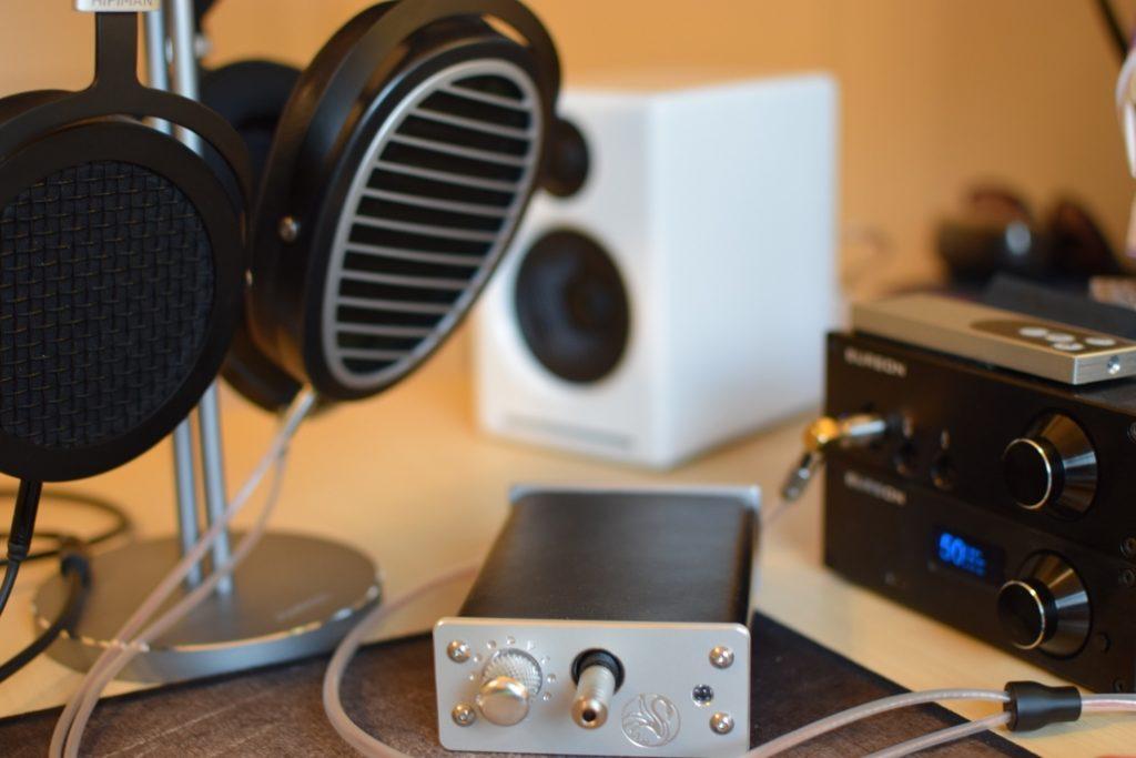 Swan Song Audio Cygnet USB Headphone Amp - Headphone Guru