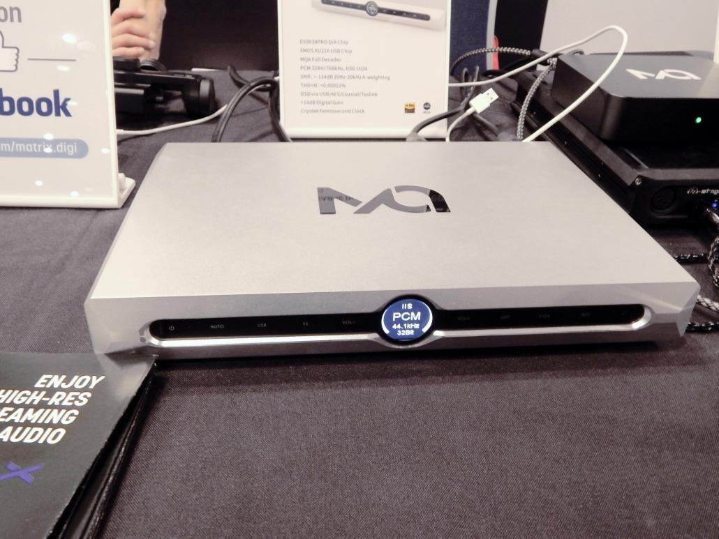 Matrix Audio X-SABRE Pro MQA DAC CanJam SoCal 2019