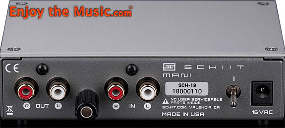 Schiit Mani MM / MC Phono Stage – REVIEW BY ENJOY THE MUSIC
