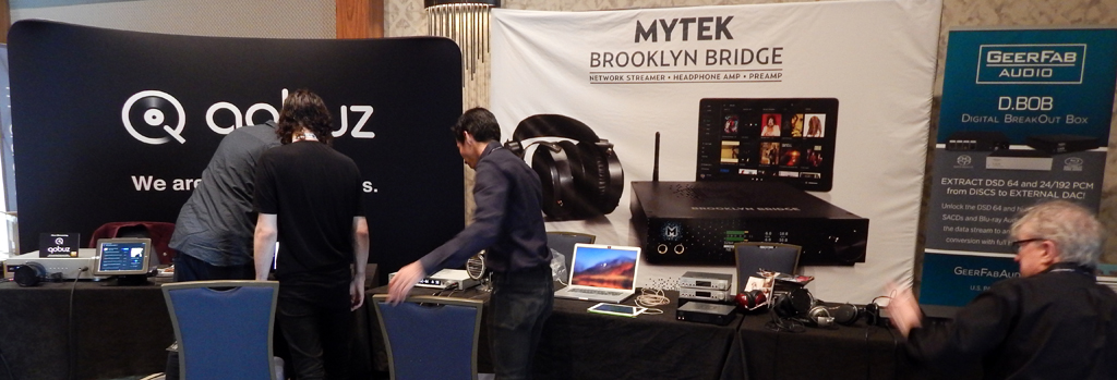 GeerFab Audio, Mytek, Qobuz at RMAF 2019 (Rocky Mountain Audio Fest)