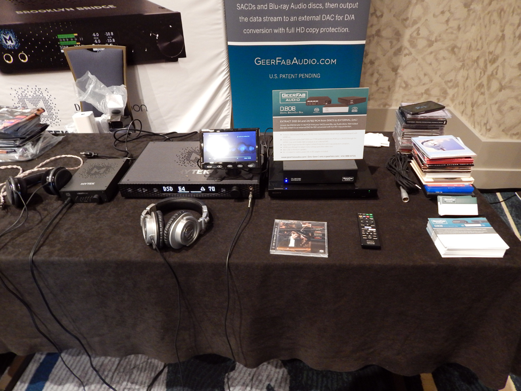 GeerFab Audio at RMAF 2019 (Rocky Mountain Audio Fest)