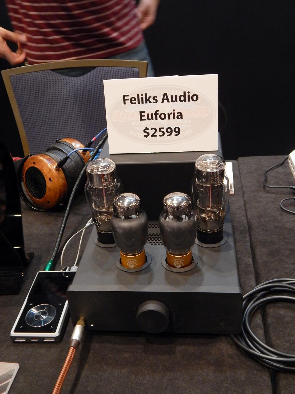 ZMF VÉRITÉ Headphones, Questyle QP2R DAP, Feliks Audio Euforia Headphone Amplifier