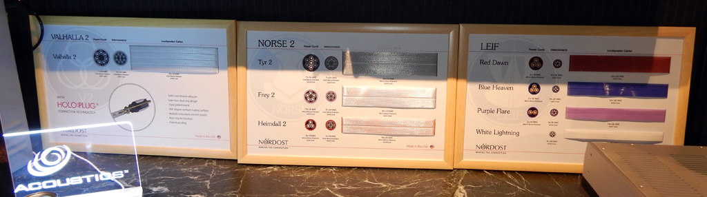 Nordost cable display
