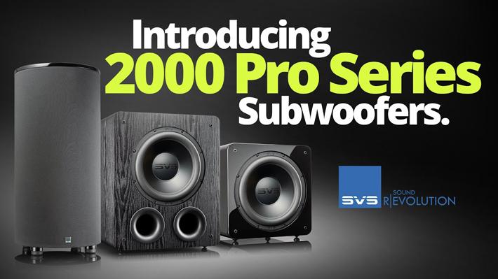 SVS 2000 Pro Series Subwoofers